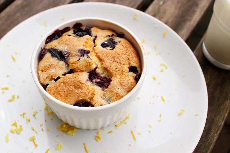Buttermilk Blueberry Cake | www.notafoodexpert.com