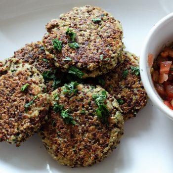 Quinoa Tuna Patties