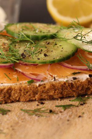 Smoked Salmon Sandwich | www.notafoodexpert.com